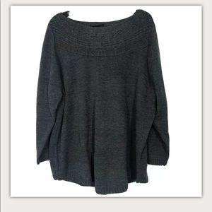 NEW Lane Bryant Grey Sweater Plus Size 22/24